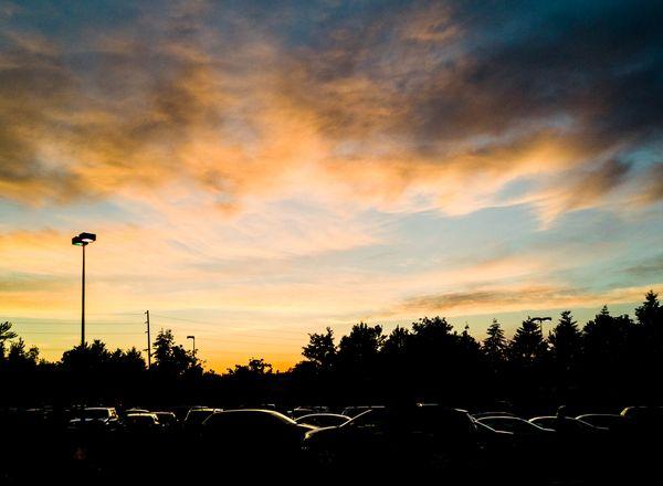 Sunset at the mall thumbnail