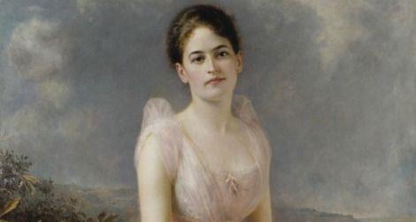 Juliette Gordon Low by Edward Hughes, 1887
