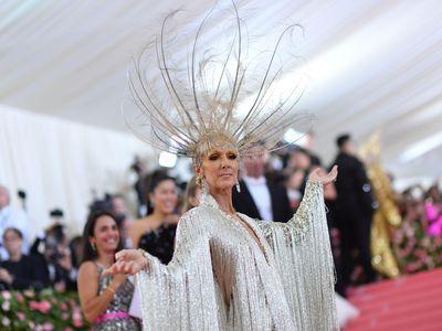 Celine Dion arrives for the 2019 Met Gala at the Metropolitan Museum of Art