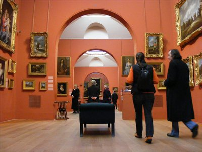 Inside Dulwich Picture Gallery, 2010