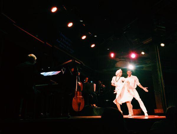 Dancers at El Querandí Casa de Tango in Buenos Aires, Argentina thumbnail