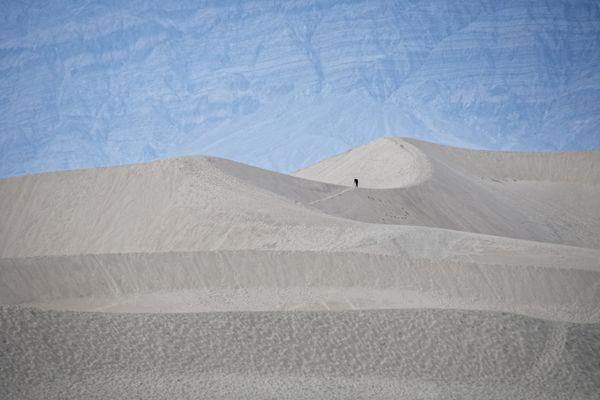 Photographer on dune thumbnail