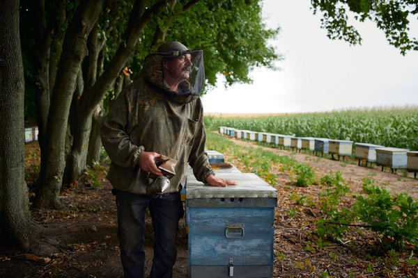 Petro and his beehives thumbnail