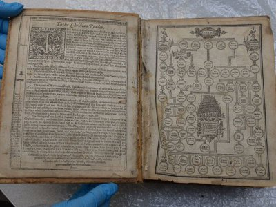 This 404-year-old Geneva Bible was one of more than 300 artifacts stolen from Pittsburgh's Carnegie Library over a two-decade period.