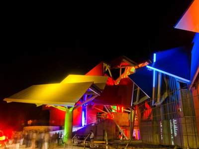 The Biomuseo brightens the night sky