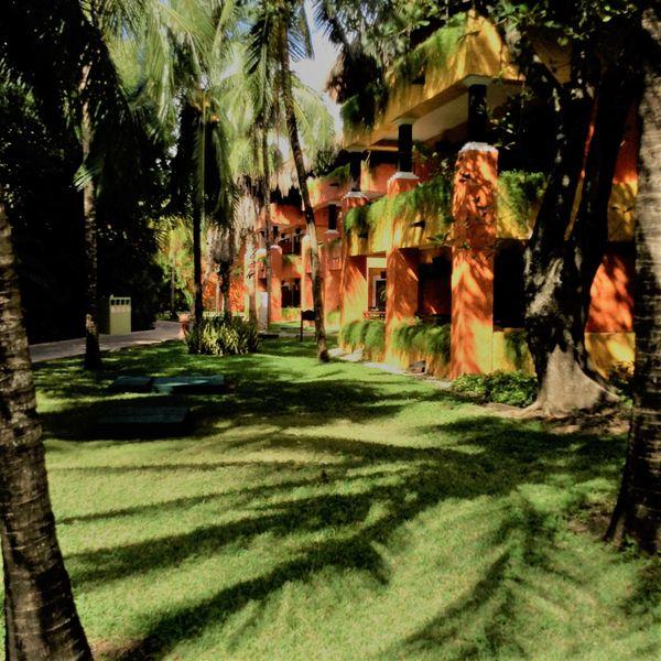 Resort impressions. Playa del Carmen. Light and shadows.  thumbnail