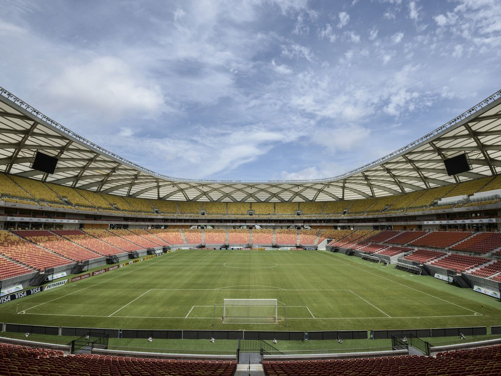 Interior view of the Amazon Arena