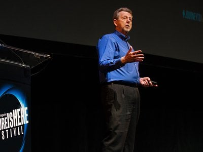 """""""Science fiction is so important to our culture, because it allows us to dream,"""" said Jim Green, director of NASA's planetary science division, at the """"Future is Here"""" festival."""