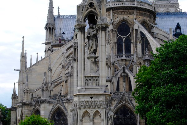 The back of Notre Dame. thumbnail