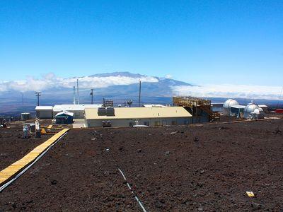 The Mauna Loa observatory.