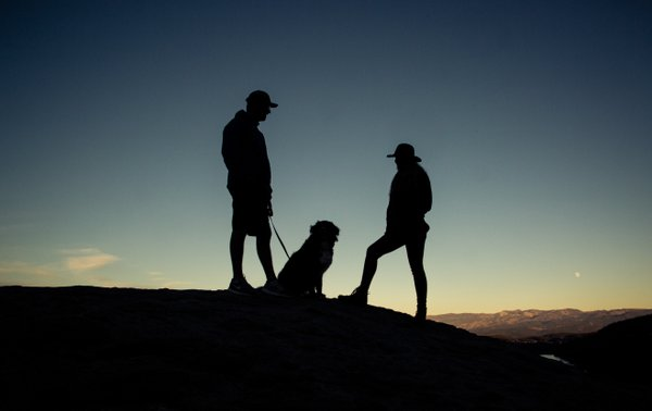 Silhouettes at Donner Pass thumbnail