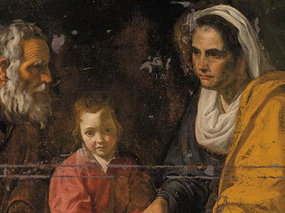 """Curator John Marciari discovered the Velázquez painting in a Yale storeroom and calls The Education of the Virgin """"the most significant addition to the artist's work in a century or more."""""""