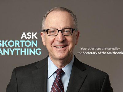 Last week, Twitter and Facebook fans of Smithsonian.com were invited to send in their questions for the new Smithsonian Secretary.