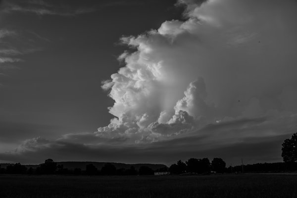 Thunderheads in the distance. thumbnail