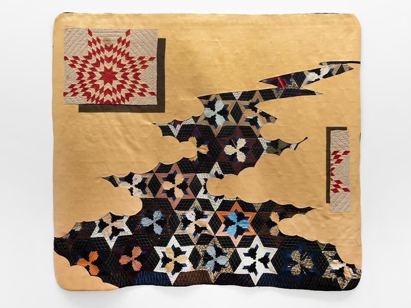 Sanford Biggers' Quilts Carry Secret Messages