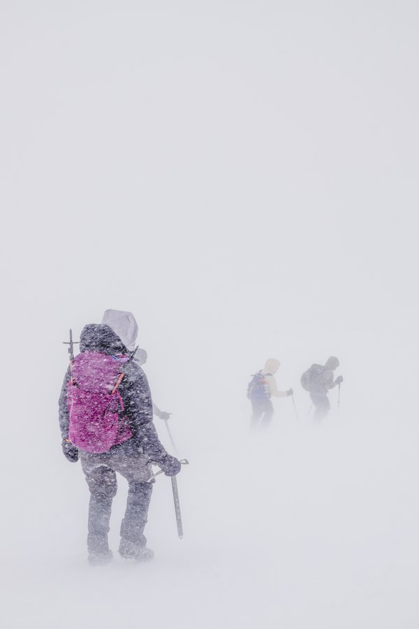 Caught in a Snow store summiting Mount Saint Helens thumbnail