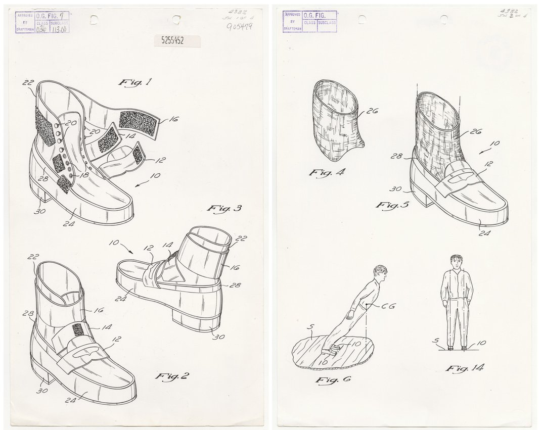 """US Patent 5255452 A: """"Method and means for creating anti-gravity illusion"""""""