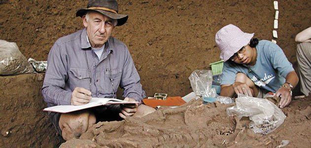 Charles Higham at Ban Non Wat