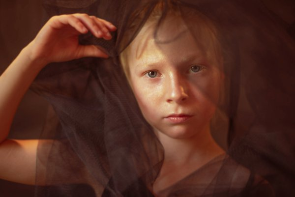 Child in Rembrandt Light thumbnail