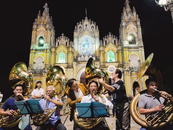 Practice the trumpet at Pham Phao church thumbnail