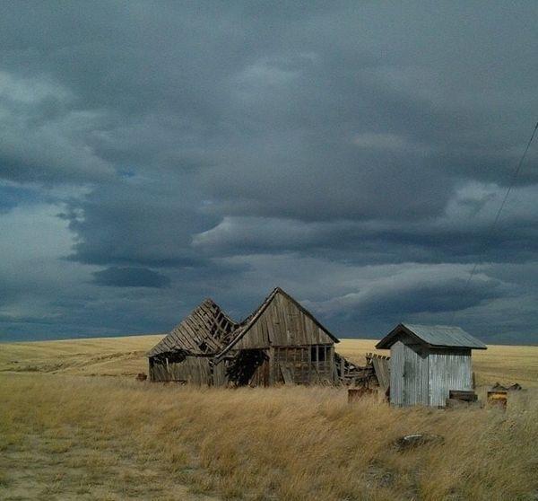 Collapsed Barn found in Farmer, WA thumbnail