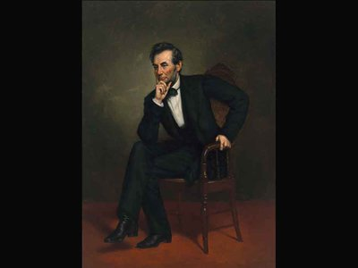 Abraham Lincoln by George Peter Alexander Healy, 1887