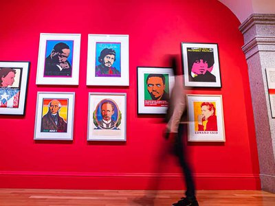 """Among the offerings at the Smithsonian American Art Museum, reopening today, is the vibrant exhibition """"¡Printing the Revolution! The Rise and Impact of Chicano Graphics, 1965 to Now."""""""