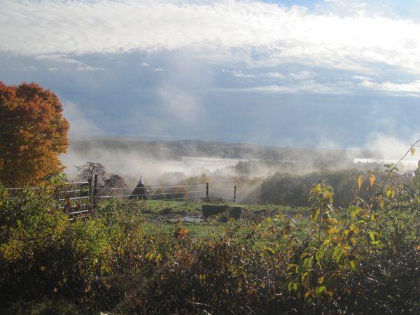 October Morning Drive up Coe Hill thumbnail