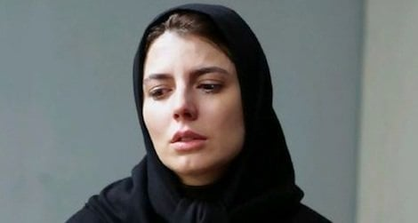 Leila Hatami in her latest film, The Last Step.