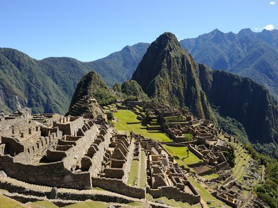Machu Picchu, aka the 'Old Mountain'