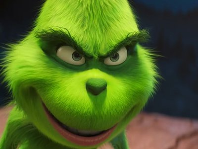 The new, animated Grinch