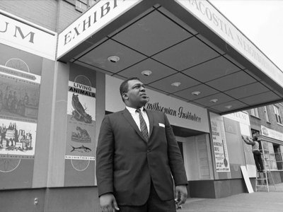 John Kinard, the first African American to head a Smithsonian museum, took the helm of the Anacostia Neighborhood Museum in 1967. The museum was housed in a former theater on Nichols Street in a Southeast neighborhood of Washington, D.C.