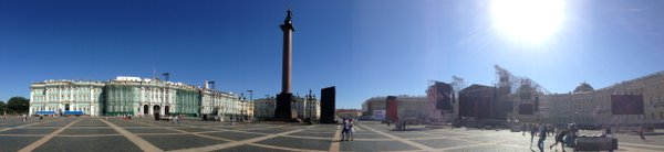 A Panorama of Palace Square, St. Petersburg, Russia thumbnail