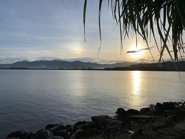 Double Sun over Likas Bay thumbnail