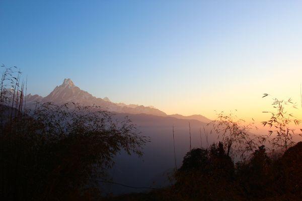 Sunrise in Himalayas- Mountain Fishtail thumbnail
