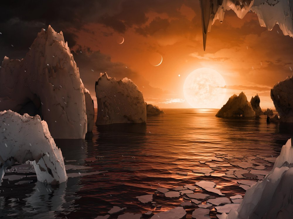 TRAPPIST Water