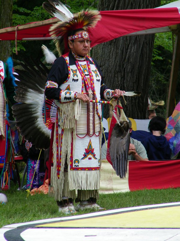Native American at a Pow Wow thumbnail