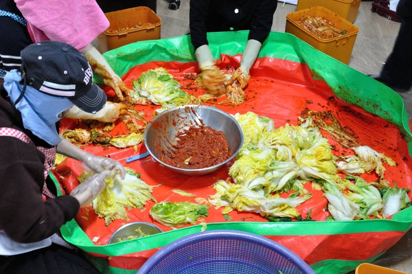 Kimchi making in Korea thumbnail