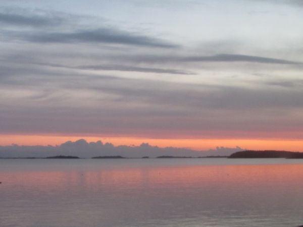 Boston Harbor Islands at sunrise May, 2016 thumbnail