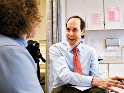 """""""We're just seeing the start of matching patients with the right drug and seeing rapid improvements,"""" says Dr. Brian Druker."""