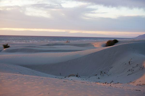 Sunset at dunes thumbnail