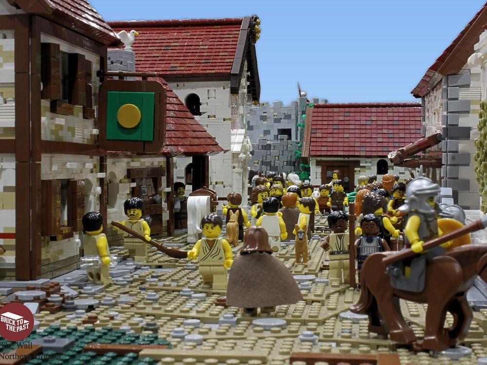Hadrian's Wall LEGO