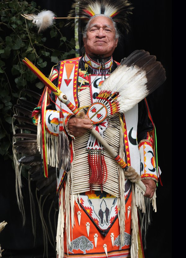 Elder man at Pow Wow thumbnail
