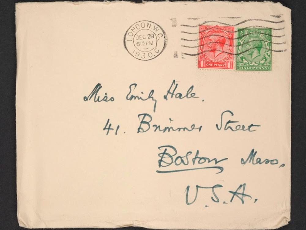 Eliot Hale letters