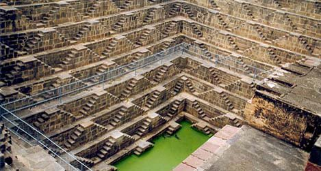 A stepwell in India