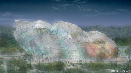 Frank Gehry's Louis Vuitton design