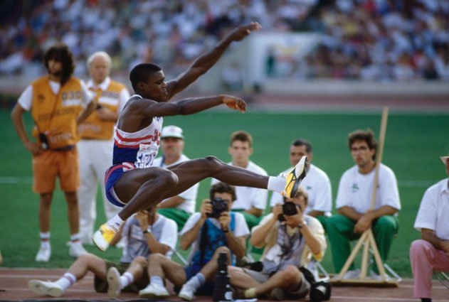 Carl Lewis, Track and Field