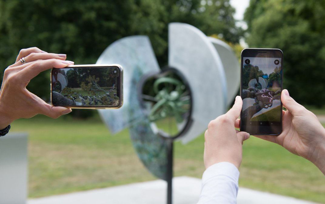 With Augmented Reality, You Can Now Superimpose Publicly Exhibited Artworks in Your Home