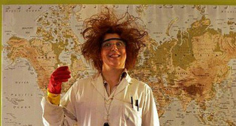 Anyone dressing up as a mad scientist today?
