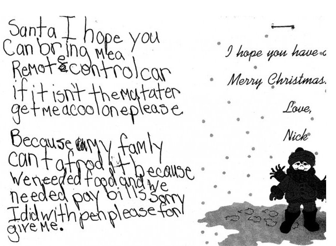 What Happens to All Those Letters Sent to Santa?